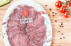 Wiltmann Pepper Salami (sliced) - 80 g