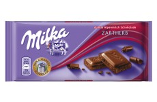Milka Zartherb (Dark Smooth Chocolate) - 100 g
