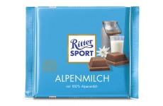 Ritter Sport Alpenmilch (Alpine Milk) - 100 g