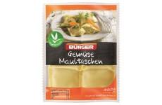 Bürger Gemüsemaultaschen (German Pasta Squares) Vegetable - 360 g