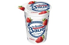 Bauer Fruit Yogurt Strawberry - 250 g