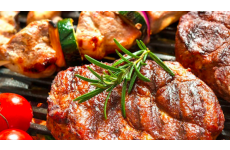 Pork Neck Steak (marinated with herbs) - 4 x 320 g