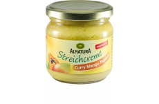 Alnatura Curry-Mango-Papaya Spread - 180 ml
