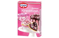 Dr. Oetker Dekor Kreation Pink Mix - 60 g