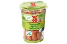 """Ruegenwalder """"Mühlen Würstchen"""" (Vegetarian Sausages) - 200 g (best before 27.06.19)"""