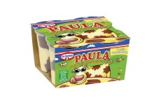 Dr. Oetker PAULA - Pudding vanilla flavor with chocolate spots - 4 x 125 g