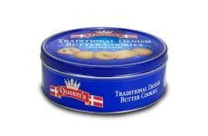 Queens Traditional Danish Buttercookies - 500 g