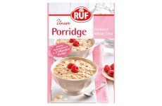 "Ruf ""Unser Porridge"" Raspberry White Chocolate - 65 g"