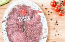 Wiltmann Pepper Salami (sliced) - 80 g