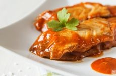 Herring Filet in Tomato Sauce - 200 g (Gut & Günstig)