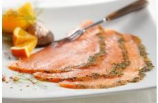 Smoked Salmon Gourmet Graved sliced - 350 g
