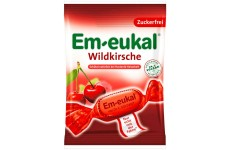 Em-Eukal Wild Cherry Cough Drops - 75 g
