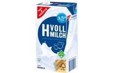 UHT Milk 3,5% fat  (Gut & Günstig) - 1000 ml (best before 23.07.21)