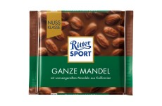Ritter Sport Whole Almond - 100 g (best before 14.05.21)