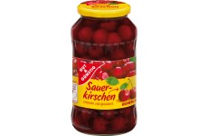 Sour Cherries - pitted (Gut & Günstig ) - 720 ml